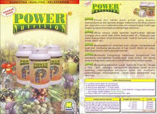 power nutrition terbaik untuk tanaman buah-buahan