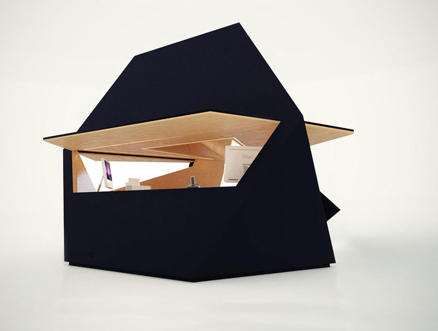 Out The Tetra Shed. A Modern Modular Office Pod Available Next Month