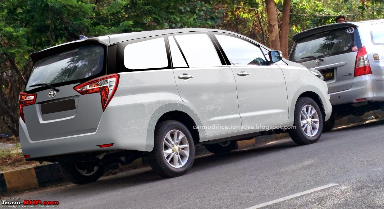 Toyota Innova 2015 Rendering Car Modification Idea