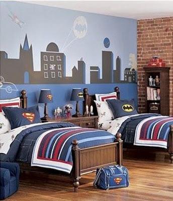 mural dormitorio niño