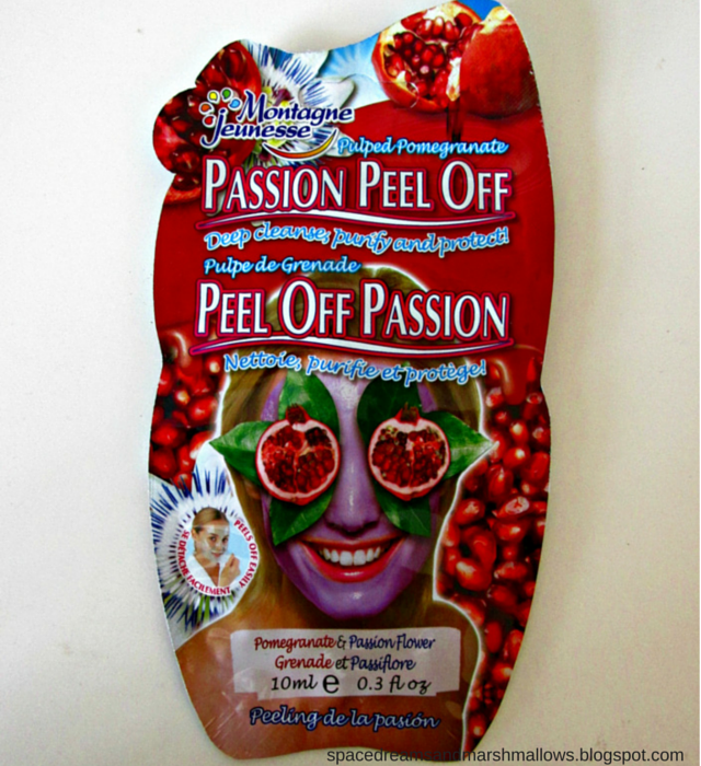Montagne Jeunesse Peel Off Passion Mask Review