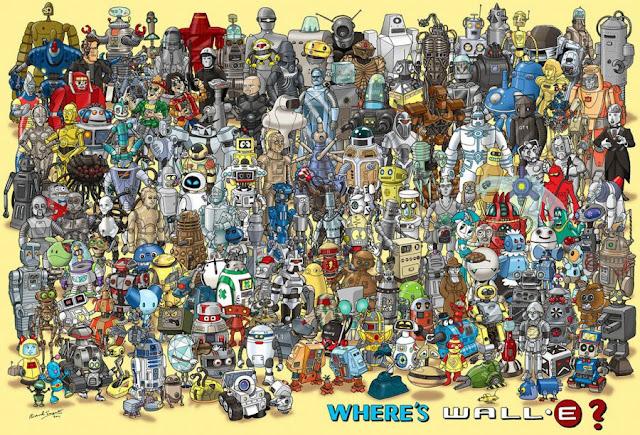 ¿Encontráis a Wall-E?