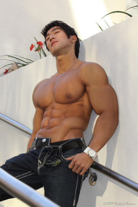 Asian Muscle Guy 25
