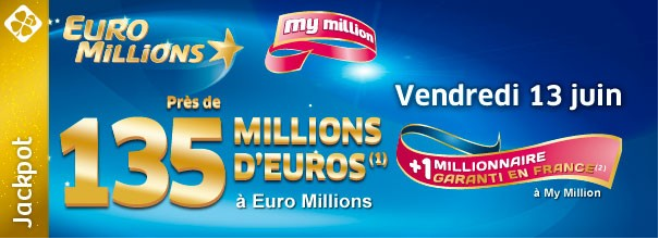 euro million, cagnotte, vendredi 13, happy journal