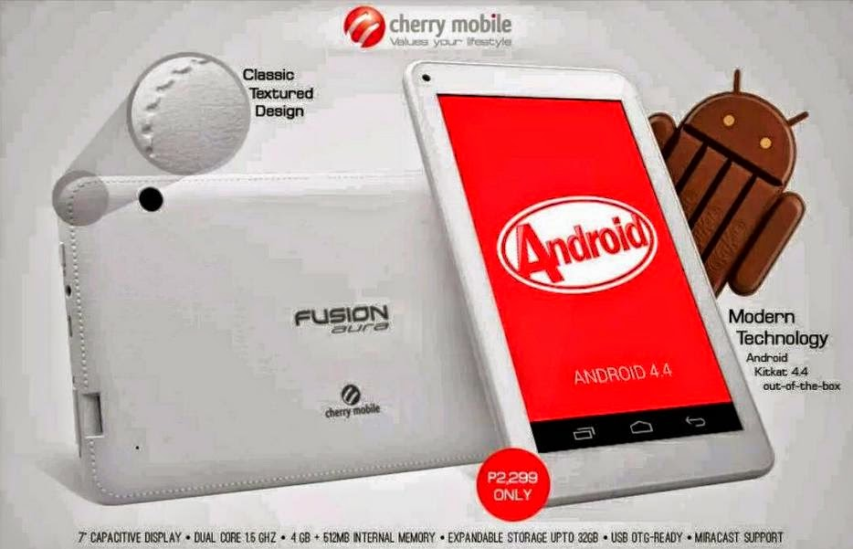 Cherry Mobile Fusion Aura Availability Announced, Other Specs Added