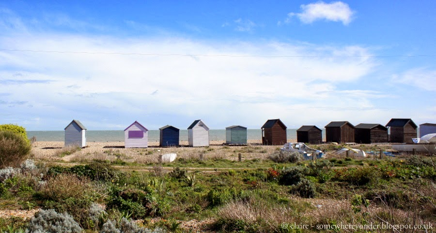 Beach Huts in Deal Bay - Deal, Kent, UK