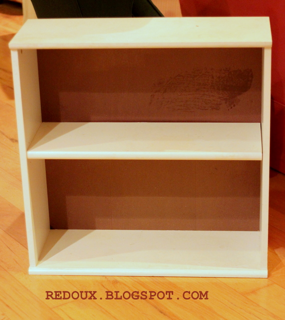 Add your shelf back in and you have your ballards knock offavant