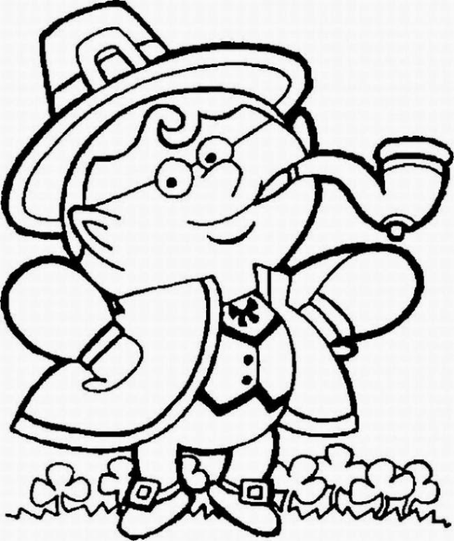 Saint Patrick's Day for Coloring, part 1
