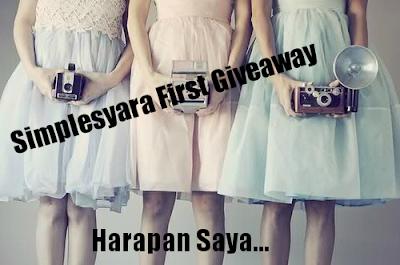 http://simplesyara.blogspot.com/2012/11/giveaway-harapan-saya.html