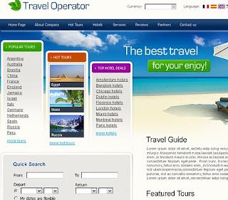 Buscar los mejores Templates para Agencia de Viajes