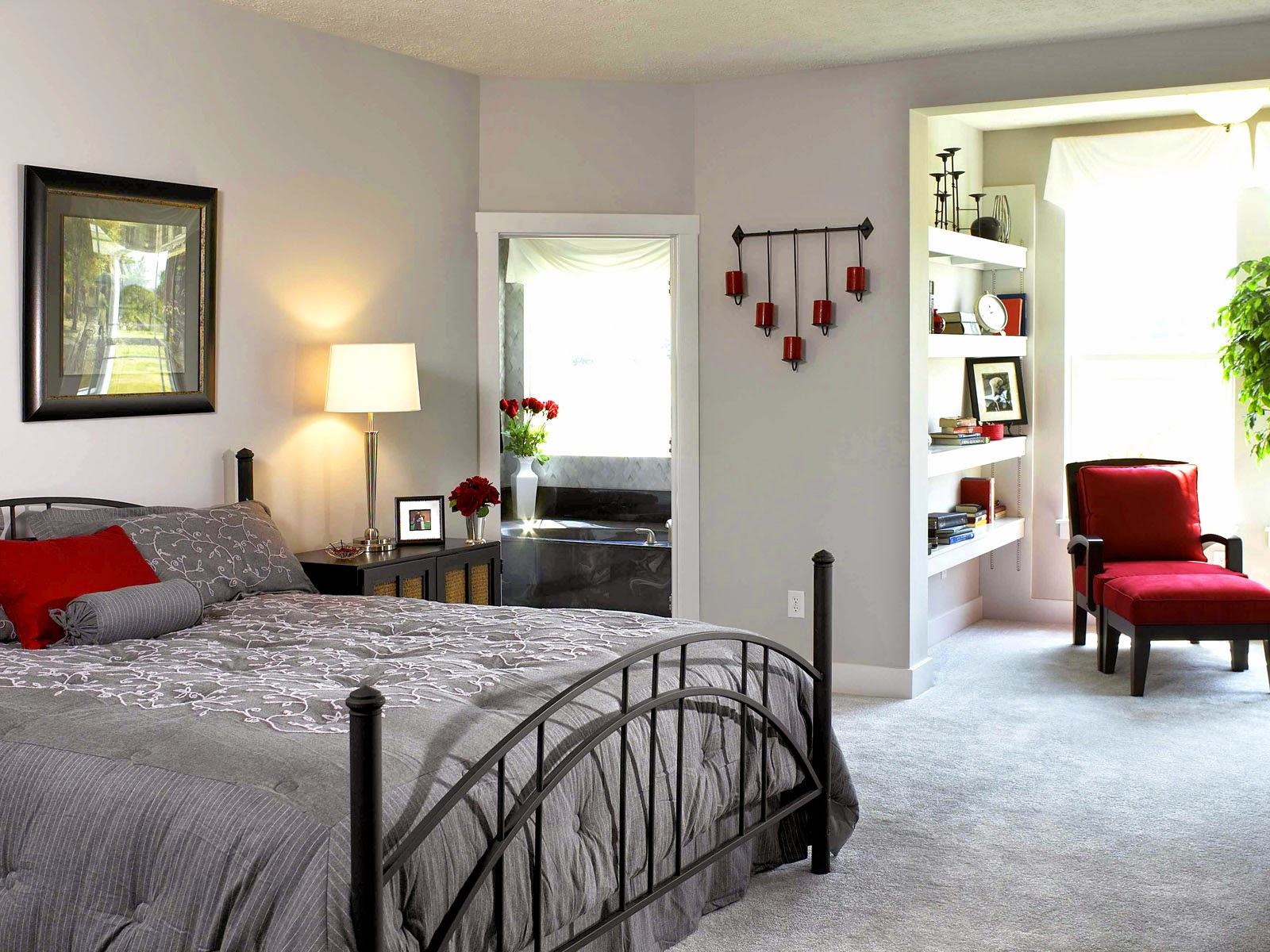 Beautiful and Elegant Decorating Bedrooms Ideas