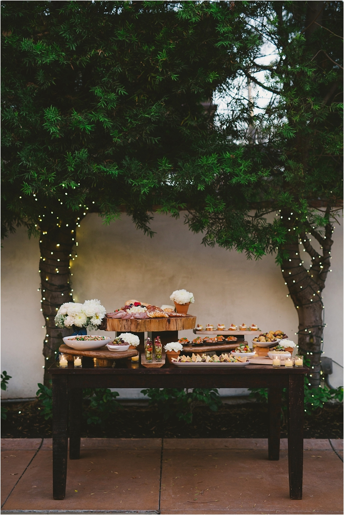 Tapas filled table