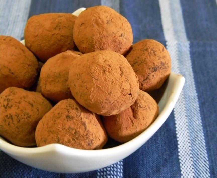 Trufa de Chocolate com Leite de Coco (vegana)