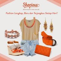 Mau lebih fashionable? Belanja aja di Shopious.com