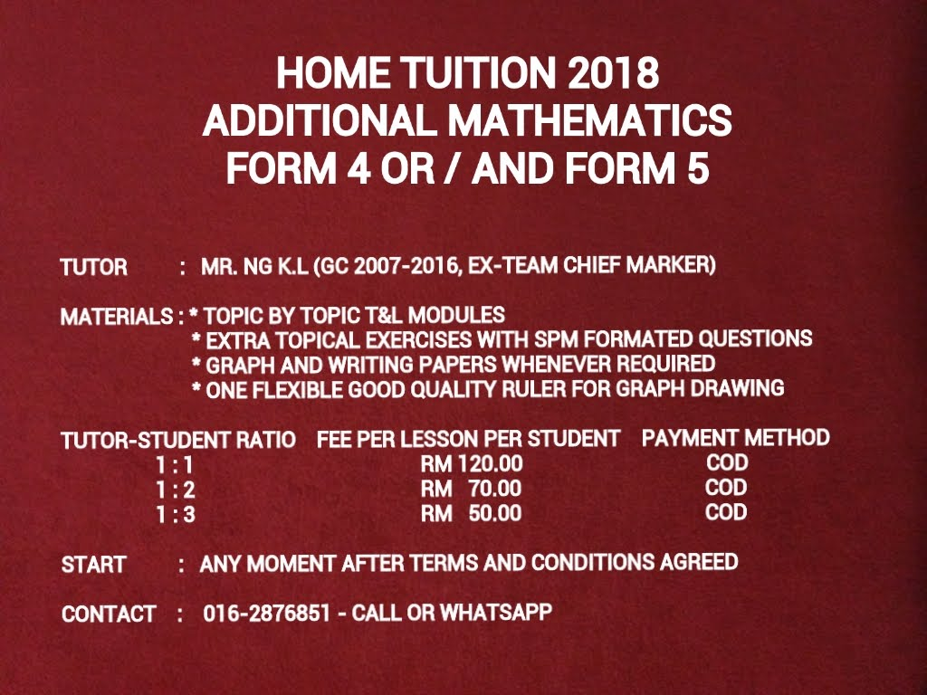 TUITION SERVICE