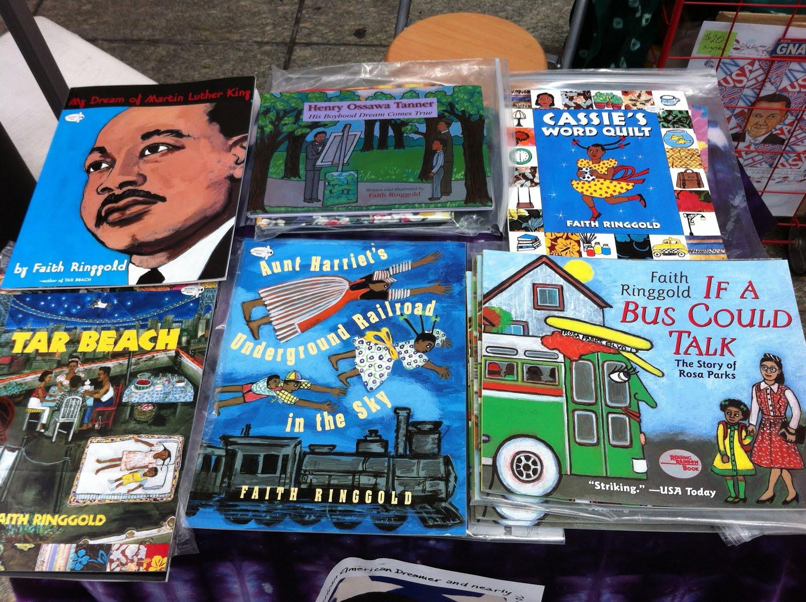 Puzzles And Books Faith Ringgold Formerly Barbara Company