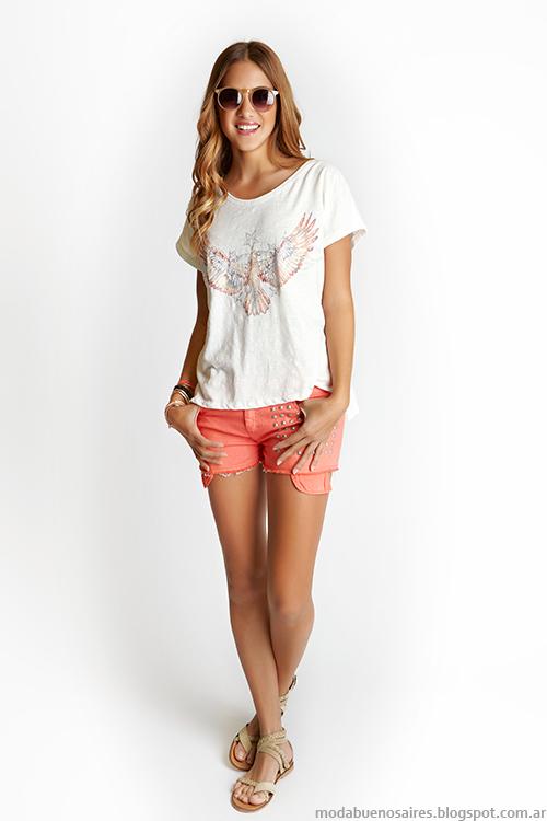 Como quieres que te quiera primavera verano 2014. Moda verano 2014 shorts.