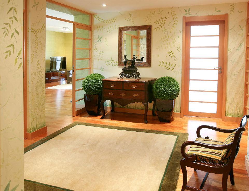 Bricolage e decora o hall de entrada por decoradora do - Decoradora de casas ...