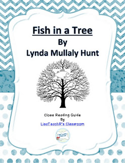 https://www.teacherspayteachers.com/Product/Fish-in-a-Tree-A-Guide-to-Close-Reading-2034428