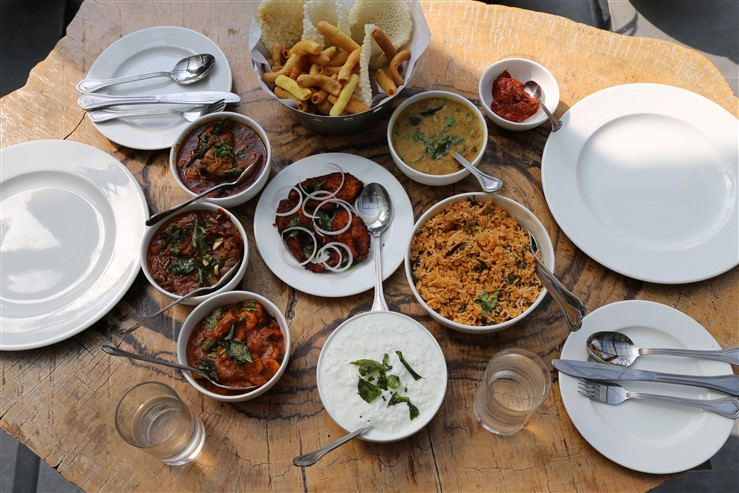 An authentic coastal andhra lunch for Andhra pradesh cuisine