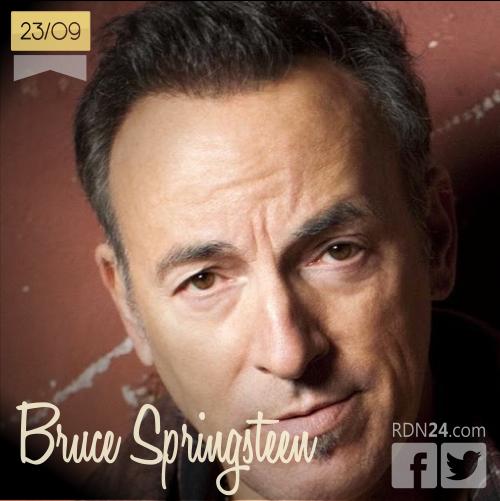 23 de septiembre | Bruce Springsteen - @springsteen | Info + vídeos