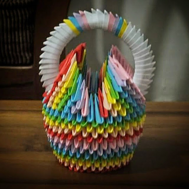 For This Basket I Used Many Colors As Can And It Is Amazing With These