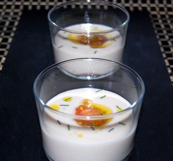 Sopa Fria De Judias Blancas