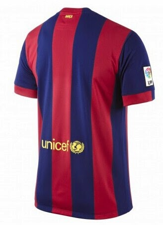 Achat maillots de foot 2015 maillot foot fc barcelone 2015 for Maillot exterieur barcelone 2014