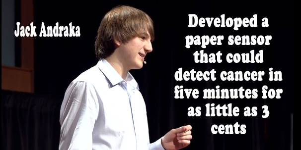 15 year old discover method to diagnose cancer