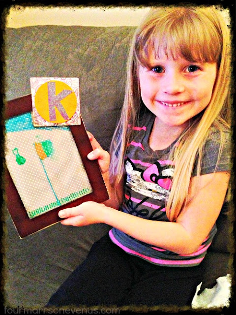 Easy DIY Dry Erase Board for kids #kids #gifts