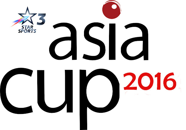 Asia Cup 2016 Broadcast Rights TV Channels