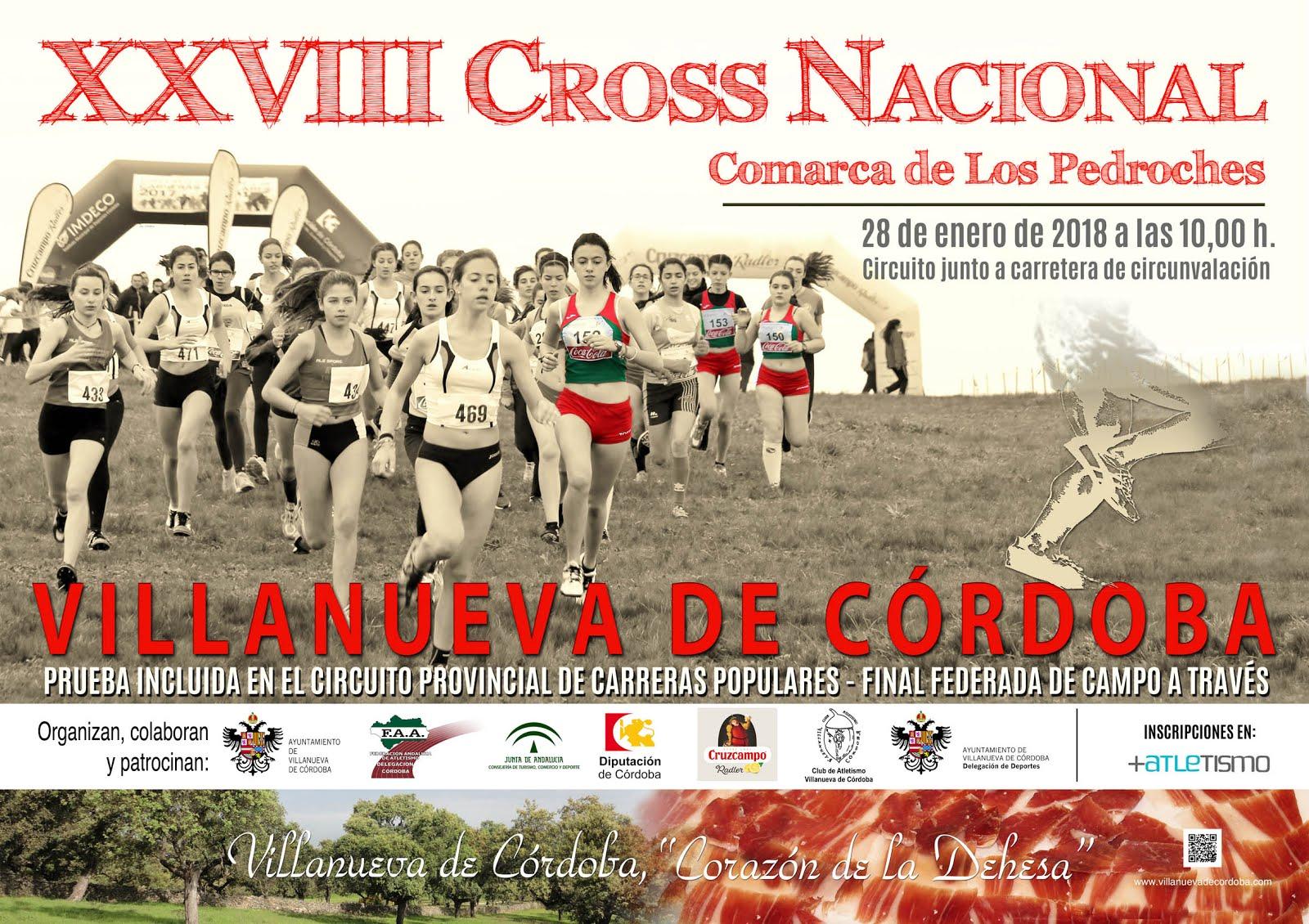 XXVIII Cross Nacional omarca de Los Pedroches