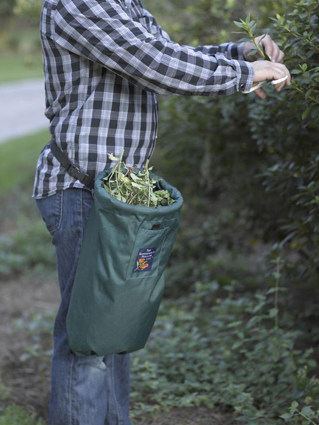Saco para recolher folhas