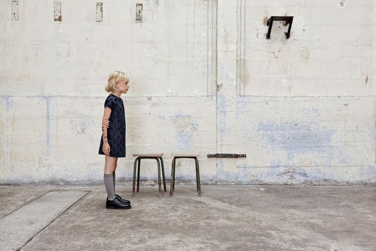 Girls dresses by Zadig & Voltaire for spring 2014 kids fashion collection
