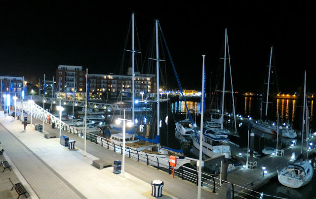 Azzuro Gunwharf Quays Italian Restaurant View Marina Harbour Boats