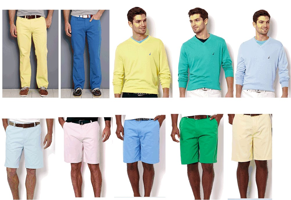 Nautica Pastels for Men Spring 2013 | Fashionista News the Fashion ...