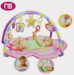 Mothercare Pretty In Pink Playgym