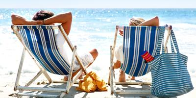 relaxing on beach - Top 10 Ways To Relax