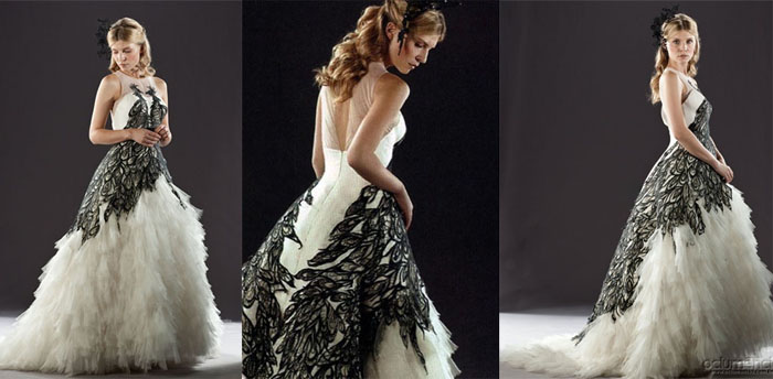 Fleur delacour wedding dress replica