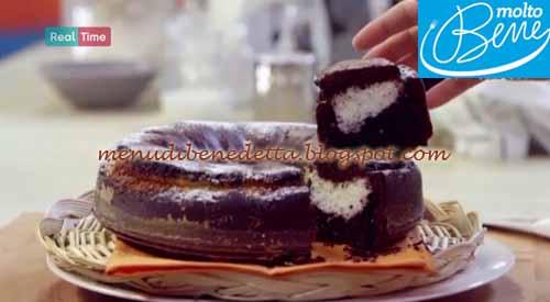 Torta ciocco cocco ricetta Parodi per Molto Bene
