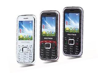 Polytron PG107B, Ponsel Candybar TV