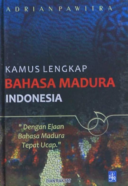 Jual Kamus Madura - Indonesia