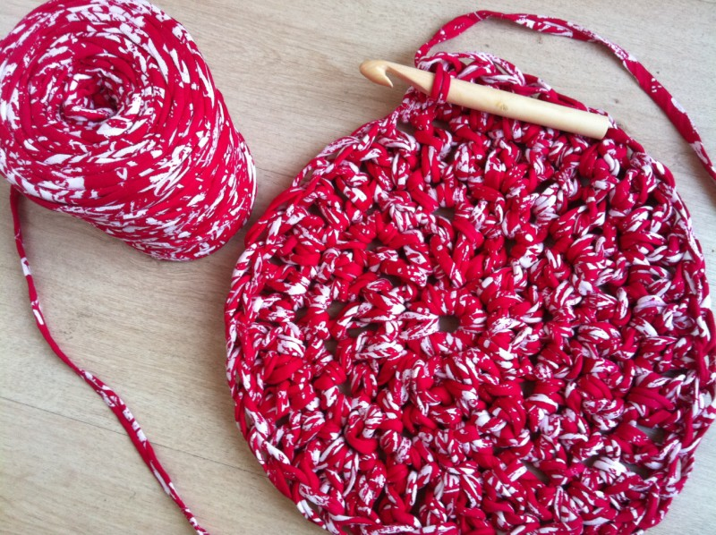 delimalimon craft: Patrón para hacer un Puff de Trapillo