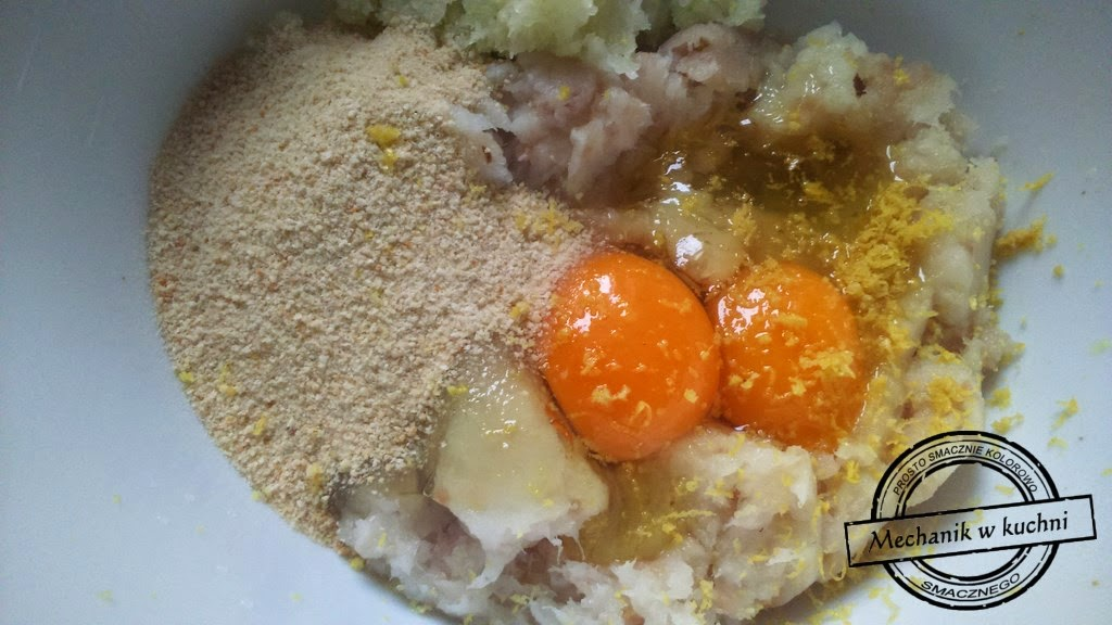 kuleczki z dorsza sos śmietanowy przystawka przyjęcie mechanik w kuchni przekąski karnawał sylwester