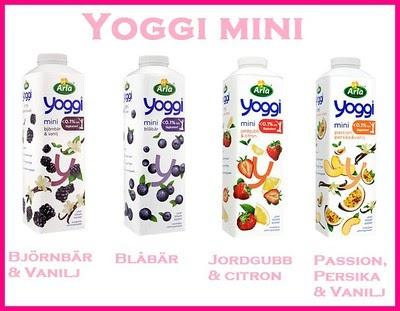 yoggi mini blåbär