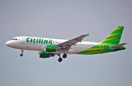 Foto Gambar Pesawat Terbang City Link Airlines 24