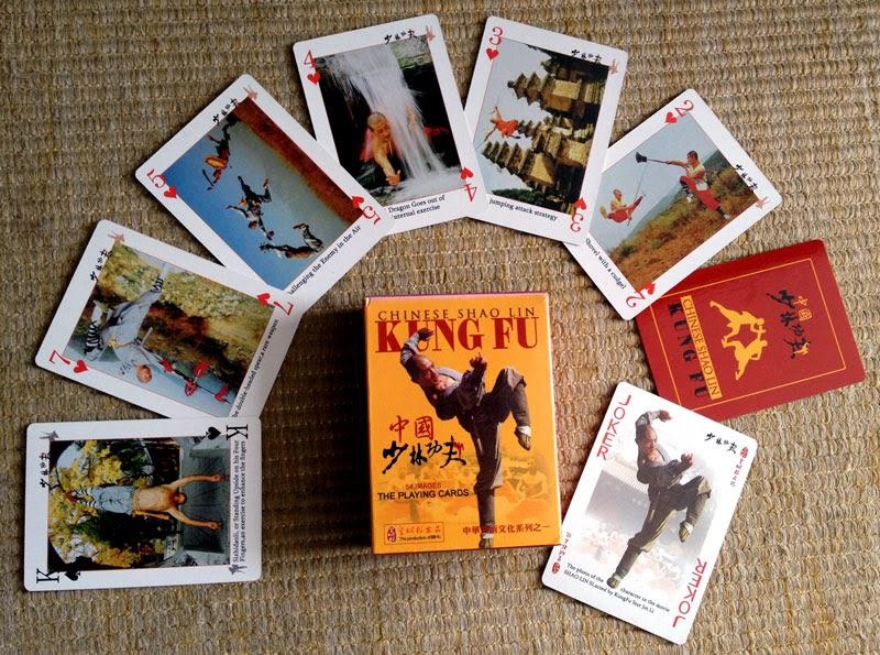 Baralho de Kung Fu Shaolin