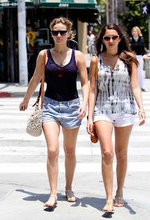 Jennifer Lawrence  out and about in Santa Monica with a friend