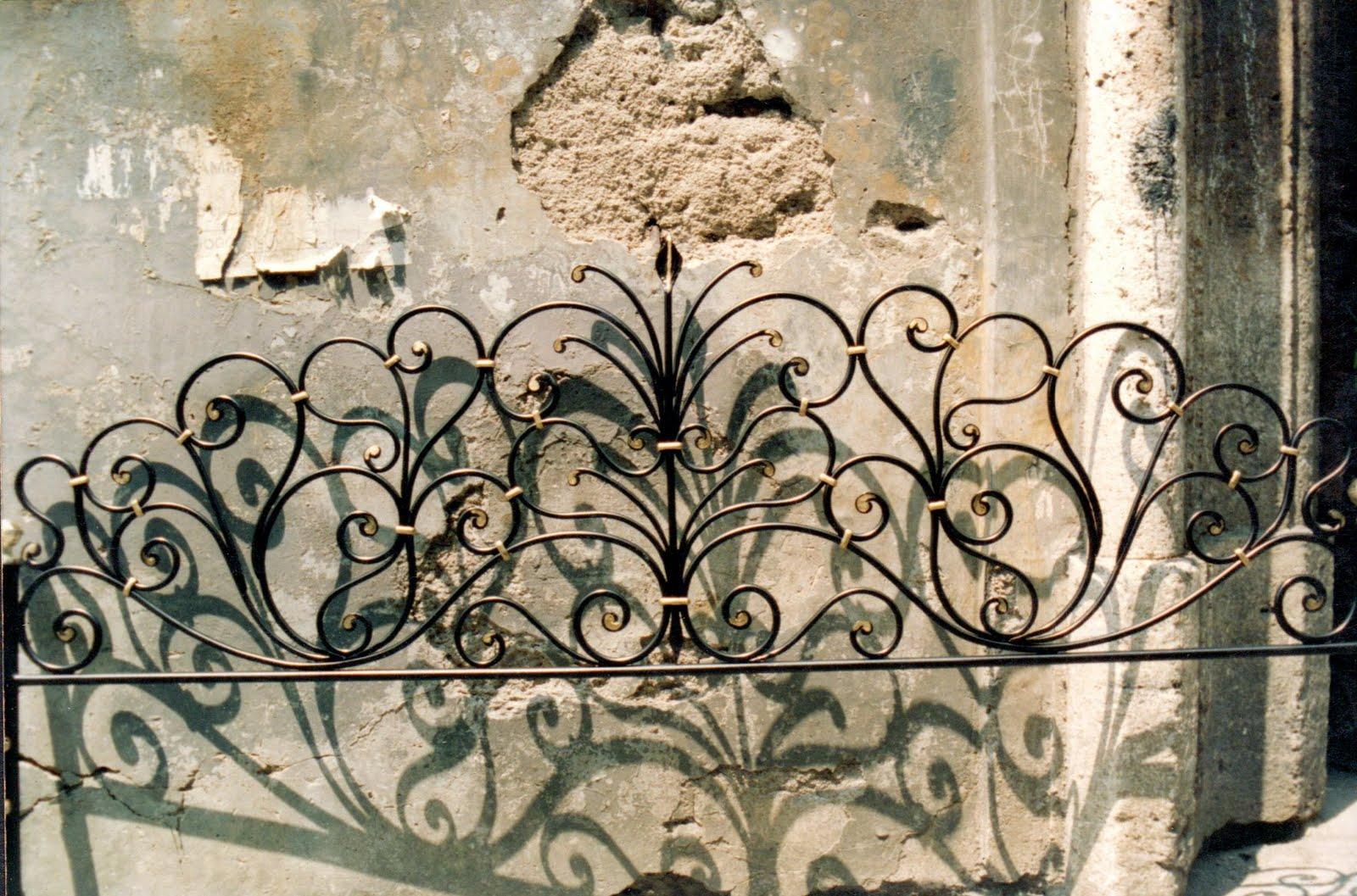 Letti In Ferro Battuto Antichi : Letto in ferro battuto antico matrimoniale letto in ferro battuto