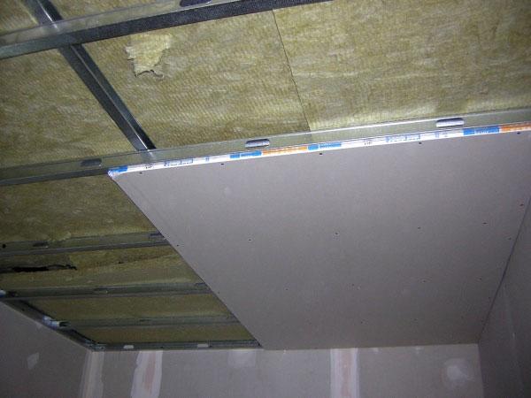 Tecnico de pladur - Como colocar pladur en techo ...